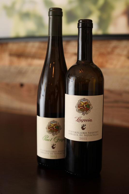 Abbazia di Novacella wines